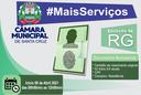 Câmara Municipal Inicia Emissão de Carteira de Identidade