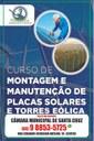 Curso de Montagem e Manutenção de Placas Solares e Torres Eólica