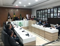 O Presidente da Câmara Municipal de Santa Cruz-RN esteve na manhã de hoje (09) reunido com os vereadores para discutir as definições das comissões.