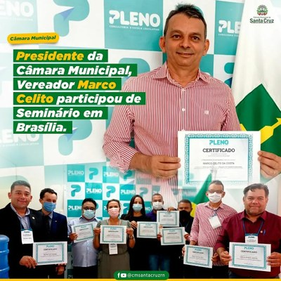 Participação de Seminário em Brasília-DF