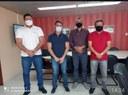 Presidente da Câmara Marco Celito e vereadores, pedem ao Detran retorno da vistoria de veículos em Santa Cruz